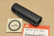 NOS Honda C70 CB450 CB750 CB900 CT90 CX500 GL500 GL1100 VF700 XL500 Foot Peg Step Rubber 50716-371-660