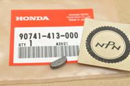 NOS Honda CB400 CB450 CBR600 CM400 CMX450 VF750 VT1100 VT600 VT800 XL600 Woodruff Key 90741-413-000