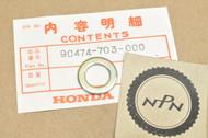 NOS Honda CB400 F CB700 SC Nighthawk CB750 F Super Sport Sealing Washer 90474-703-000