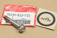 NOS Honda CR125 R CR250 R CR500 R Front Brake Caliper Mount Bracket Flange Bolt  90154-KZ3-730