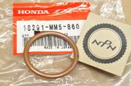 NOS Honda CA72 CA77 CB1000 CB72 CB750 CB77 CB900 CL72 CL77 VT600 VT750 Exhaust Pipe Gasket 18291-MM5-860