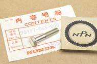 NOS Honda ATC110 ATC70 CB100 CL70 CL90 CT70 CT90 S90 SL125 SL70 SL90 ST90 XL100 XL70 Hex Bolt 90117-065-000