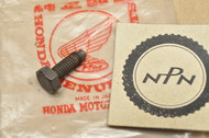 NOS Honda XL175 K0-1978 Kick Starter Spindle Stopper Bolt 90081-362-010