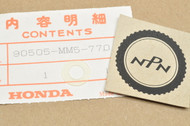 NOS Honda 1988 CBR1000 F Hurricane Cowl Washer 90505-MM5-770