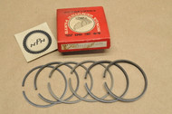 NOS Honda CA160 CB160 CL160 Standard Size Piston Ring Set for 2 Pistons= 6 Rings 13012-217-000