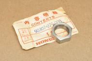 NOS Honda SL90 Rear Axle Sleeve Nut 90307-074-000