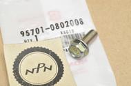 NOS Honda CB400 CB450 CR125 CR80 CX500 GL1500 GL500 Gold Wing TRX350 VF500 XR200 Flange Bolt 95701-08020-08