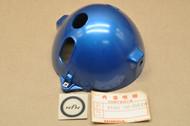 NOS Honda CB100 K1 Headlight Bucket Case in Crystal Blue Metallic 61301-105-000 EW