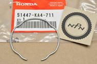 NOS Honda CB1 CB750 CR250 NT650 NX650 PC800 VFR750 VT1100 XR250 XR650 Oil Seal Stopper Ring 51447-KA4-711