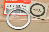 NOS Honda CB1 CB750 GL1200 NT650 PC800 VF1100 VFR750 VT1100 Front Fork Back Up Ring 51412-MB4-003