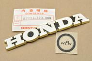 NOS Honda CB500 K0-K2 CB550 K0-1976 Gas Tank Right Emblem 87121-323-000
