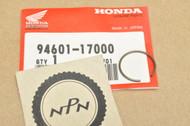 NOS Honda CB1000 CB400 CB450 CB750 CBR600 TRX250 TRX300 XL250 XR200 XR250 Piston Pin Circlip 94601-17000