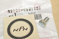 NOS Honda ATC70 CA72 CB450 CB750 CB92 CL350 CL90 CR250 CT90 MR50 SL350 ST90 XL250 XR75 Hex Bolt 92101-06012-0A