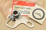 NOS Honda 1986-89 TRX350 Fourtrax Gear Shift Spindle Arm 24621-HA7-670