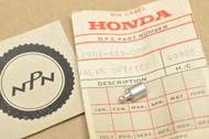 NOS Honda CB400 A CB400T CM400 T CX500 CX650 GL500 GL650 Oil Control Orifice Valve 12901-413-000