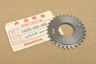NOS Honda CT90 CT110 ATC90 ATC110 ATC125 CL90 CM91 ST90 S90 SL90 TRX125 Cam Chain Sprocket 30T 14321-028-000