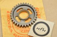 NOS Honda 1980-81 ATC185 1981 ATC200 Transmission Counter Shaft 2nd Second Gear 31T 23451-958-000