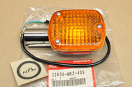 NOS Honda CB650 SC CMX250 CMX450 Rebel VF700 VT500 VT750 Shadow Right Rear Turn Signal Blinker 33600-MK3-405