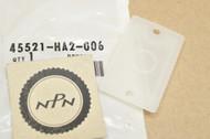 NOS Honda ATC250 CB1000 CB400 CMX250 FL400 TRX200 TRX250 XL600 XR250 XR600 Diaphragm Plate 45521-HA2-006