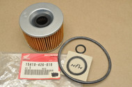 NOS Honda CB350 CB400 CB500 CB750 CB900 CBX GL1000 GL1100 GL1200 Gold Wing Oil Filter Element 15410-426-010