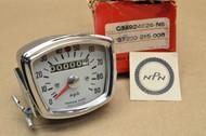 NOS Honda CA160 CA95 CB92 Speedometer MpH Gauge Assembly 37200-215-008