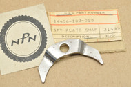 NOS Honda CB125 CL100 CL125 SL100 SL125 TL125 XL100 XL125 Valve Rocker Arm Shaft Setting Plate 14456-107-010