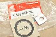 NOS Honda 1986-88 XR250 R 1985 XR350 R 1985-87 XR600 R Chain Adjuster Clamp 40546-KN5-000