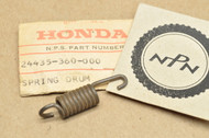 NOS Honda CR125 M MR175 MT125 Elsinore Gear Shift Drum Stopper Arm Spring 24435-360-000