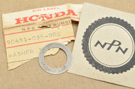NOS Honda ATC70 C70 CL70 CT70 MR50 S65 SL70 XL70 Z50 Transmission Thrust Washer 13.5mm 90451-035-000