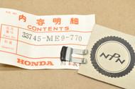 NOS Honda VF500 C V30 Magna VT1100 C VT700 C Shadow Reflex Reflector Setting Spring 33745-ME9-770