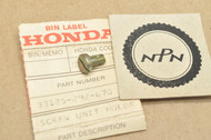 NOS Honda CB450 CB550 CB750 CL350 CL450 CL70 CT70 GL1000 S90 SL350 SL70 XL70 Head Light Holder Screw 33125-292-670