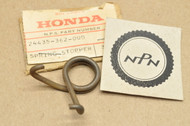 NOS Honda XL175 K0-K2 Gear Shift Drum Stopper Spring 24435-362-000