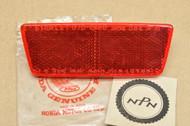 NOS Honda C70 K1 CT90 K4-K5 SL100 K2 SL125 K1 SL350 K2 Red Reflector Lens 33746-092-671
