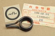 NOS Honda C100 C102 C110 C200 Gear Shift Return Spring 24651-001-000
