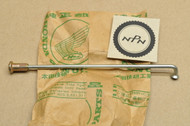 "NOS Honda 1978-79 CM185 1980 CM200 Twinstar Rear Wheel Spoke ""B"" & Nipple 97631-52115-10"