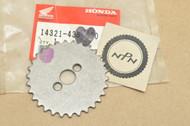 NOS Honda XL100 S XR100 XR100R Cam Chain Sprocket 14321-436-000