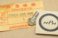 NOS Honda ATC110 ATC70 CL70 CT110 CT70 S65 S90 SL70 ST90 TRX70 XL70 Z50 Cam Chain Guide Roller Pin 14615-035-000