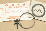 NOS Honda 1983-85 ATC200 X ATC250ES Big Red ATC250 SX 1989-90 GB500 Front Fork Boot Band Clamp 51612-473-000