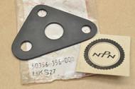 NOS Honda XL250 K0-K2 XL350 K0-K1 Black Left Engine Hanger Plate C 50356-356-000