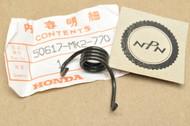 NOS Honda 1985 XR350 R 1985-87 XR600 R Foot Peg Step Return Spring 50617-MK2-770