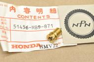 NOS Honda 1982-83 GL1100 1984-87 GL1200 Gold Wing Air Valve 51456-MB9-871
