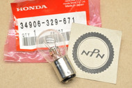 NOS Honda CB125 CL125 CT70 CT90 MT125 MT250 PA50 SL100 SL70 ST90 XL125 XL175 Tail Light Bulb 6V 34906-329-671