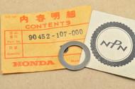NOS Honda CB100 CB125 CL100 CL125 SL100 SL125 TL125 XL100 XL125 XL185 XL200 Thrust Washer 90452-107-000