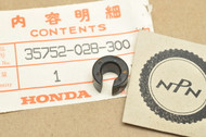 NOS Honda CB125 CL100 CT90 SL100 SL125 ST90 TL125 TLR200 XL100 XL75 Neutral Switch Spacer 35752-028-300
