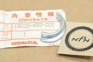 NOS Honda NX125 XL125 XL185 XL250 XR185 XR200 XR250 Exhaust Muffler Pipe Joint Collar 18233-437-000