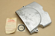 NOS Honda CB125 XL100 XL125 Left Rear Crank Case Side Cover 11361-383-000