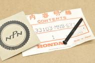 NOS Honda CB400 F CB-1 CB750 NT650 Hawk GT Head Light Adjusting Screw 33103-MN8-671