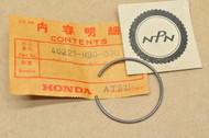 NOS Honda CB650 CB700 CX650 GL1200 VF1100 VF700 VF750 VT1100 VT700 VT800 Swing Arm Stopper Ring 40221-MB0-000