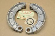 NOS Honda CB450 CB500 CB550 CL450 Rear Wheel Brake Shoe Set for 1 Hub = 2 Shoes 43120-458-670