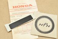 NOS Honda ATC70 K0-1979 ATC90 K0-1978 Knob Tape 28414-918-000